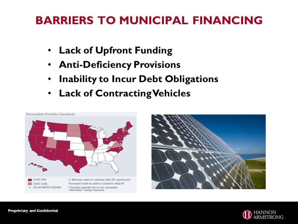 Proprietary and Confidential Lack of Upfront Funding Anti-Deficiency Provisions Inability to Incur Debt Obligations Lack of Contracting Vehicles BARRI