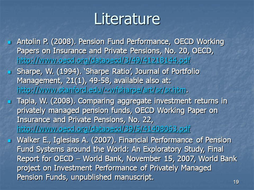 19 Literature Antolin P. (2008).