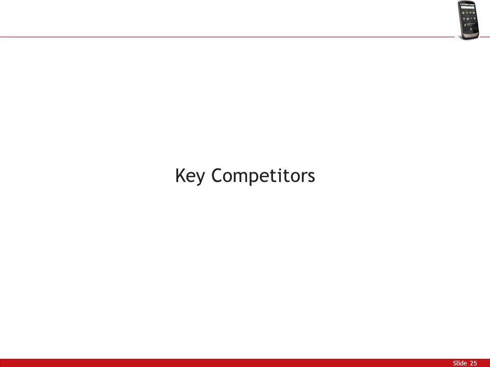 Slide 25 Key Competitors