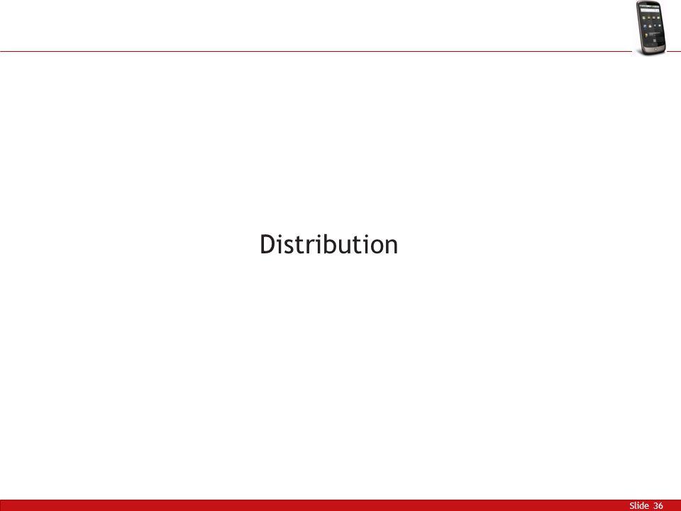 Slide 36 Distribution