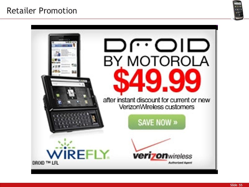 Slide 55 Retailer Promotion