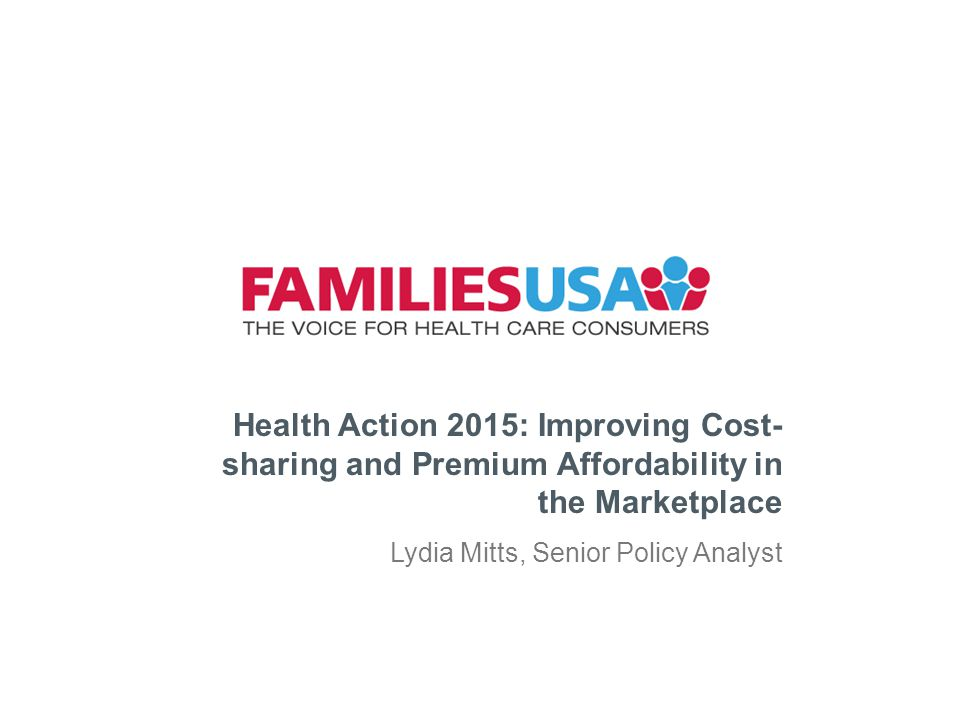 FamiliesUSA.org 2.Private Financial Assistance Cont.
