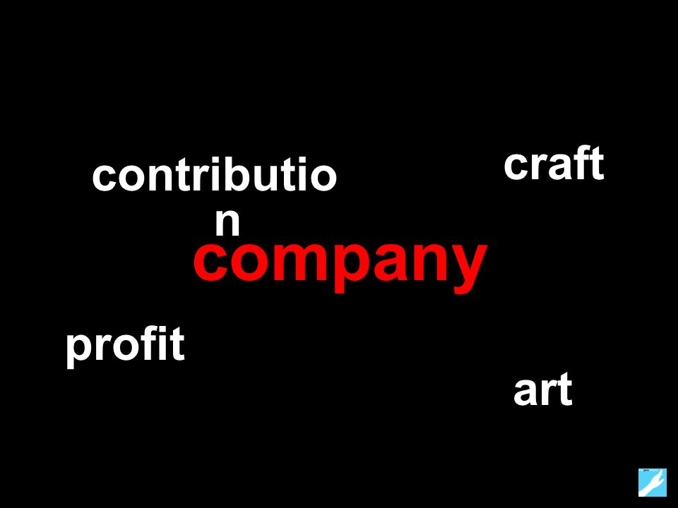 company profit craft art contributio n
