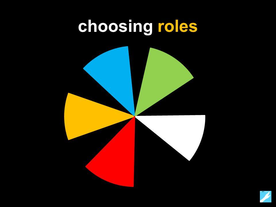 choosing roles