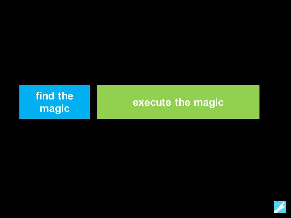 find the magic execute the magic