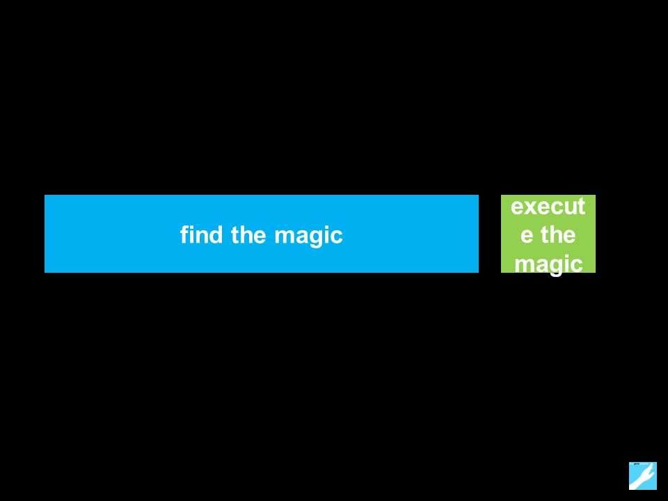 find the magic execut e the magic