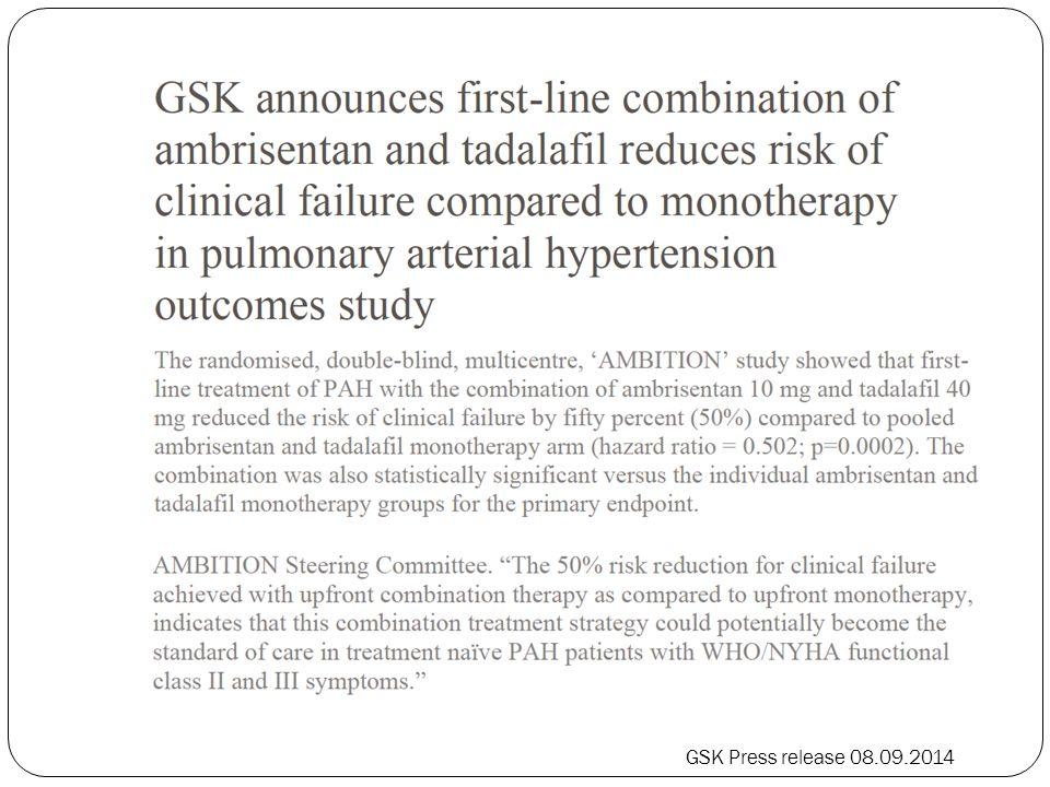 GSK Press release 08.09.2014
