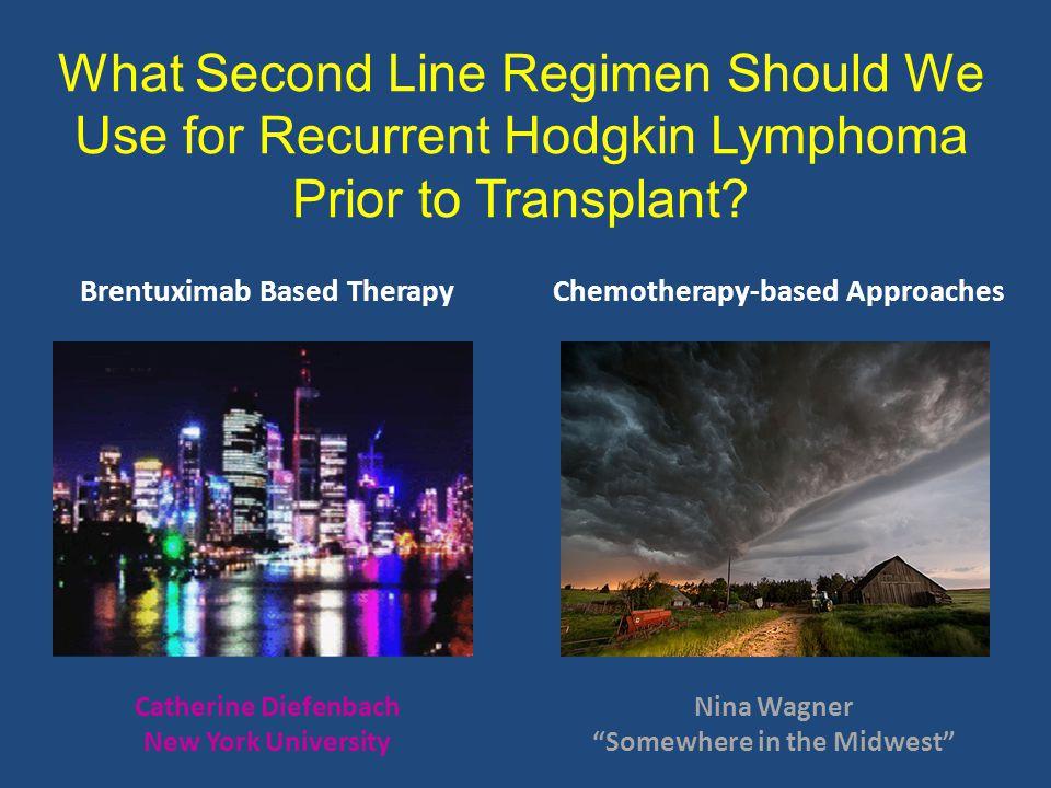 What Second Line Regimen Should We Use for Recurrent Hodgkin Lymphoma Prior to Transplant.