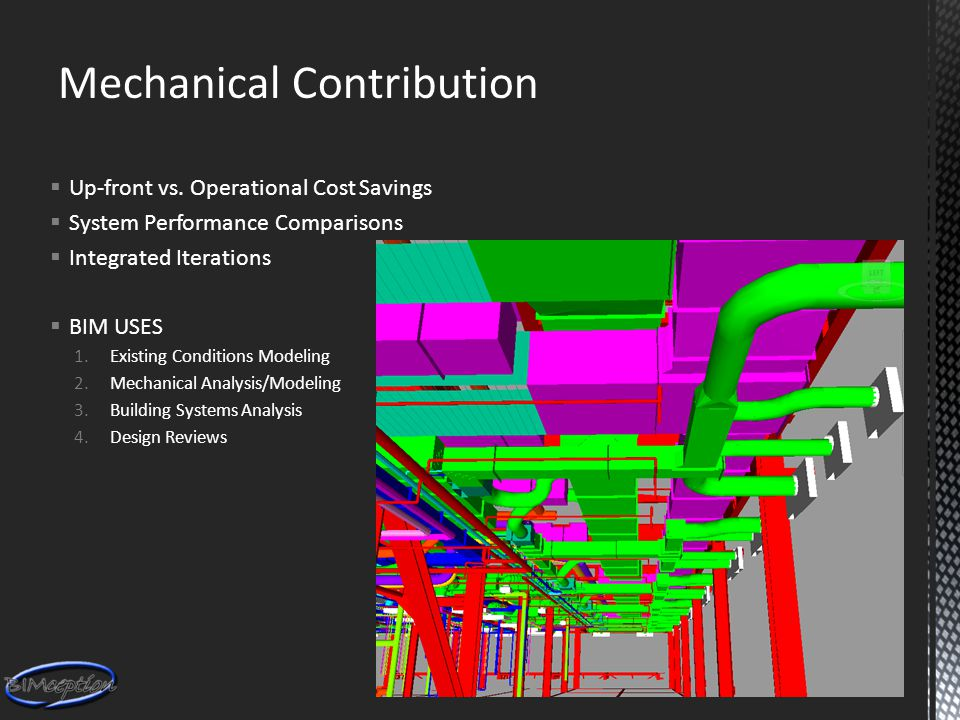 Mechanical Contribution  Up-front vs.