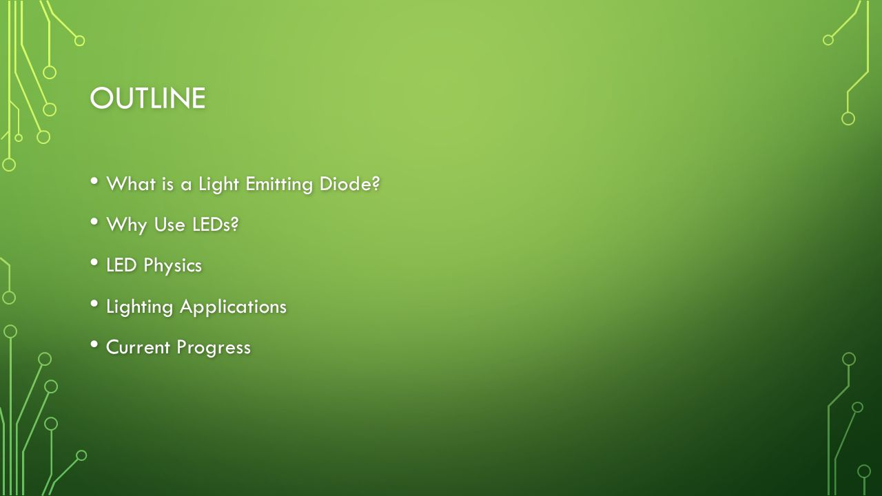 REFERENCES 6. In Depth: Advantages of LED Lighting. Energy & Power.