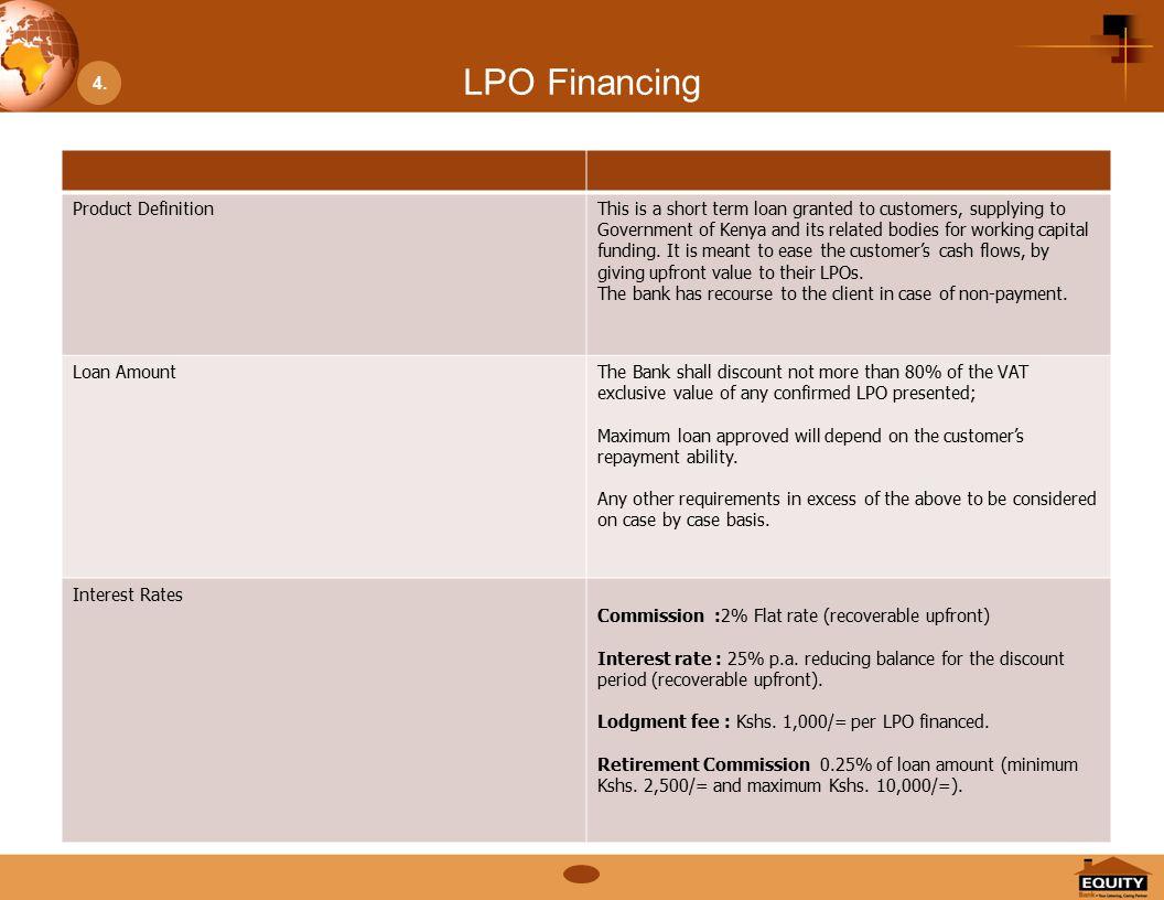 LPO Financing 4.