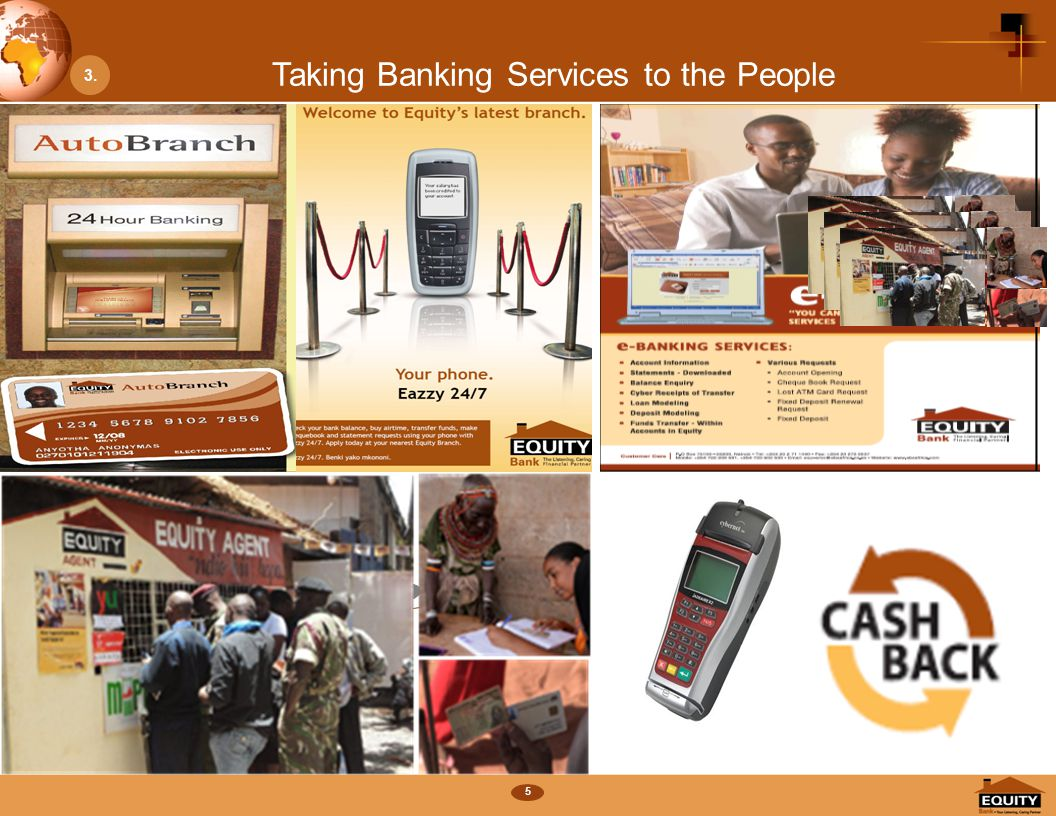 5 Taking Banking Services to the People Number of CustomersNumber of Branches Number of ATMsNumber of POS 21% 14% 10% 130% 144% MM 3.