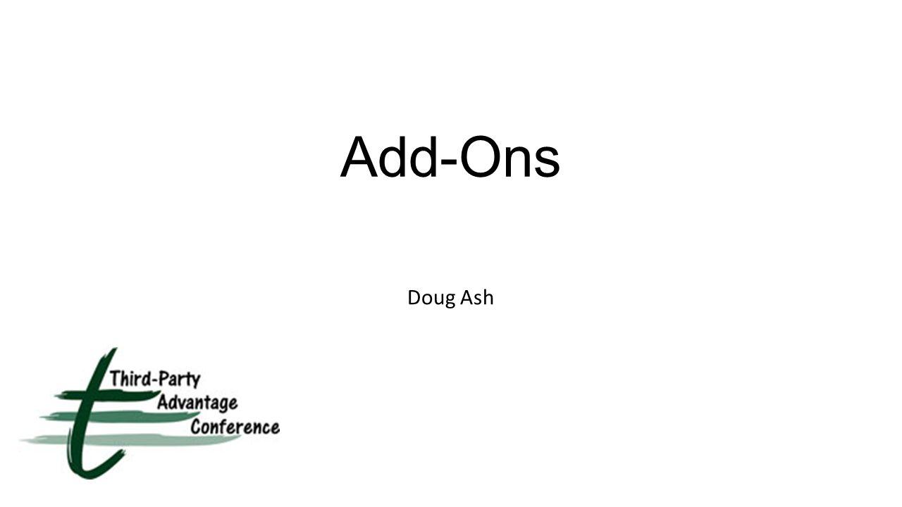Add-Ons Doug Ash