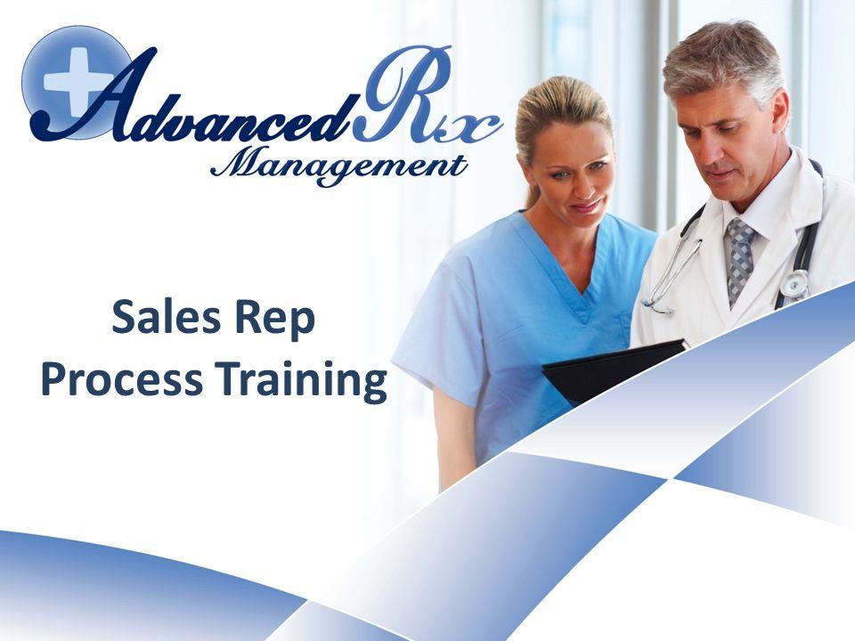 Sales Rep Process Training