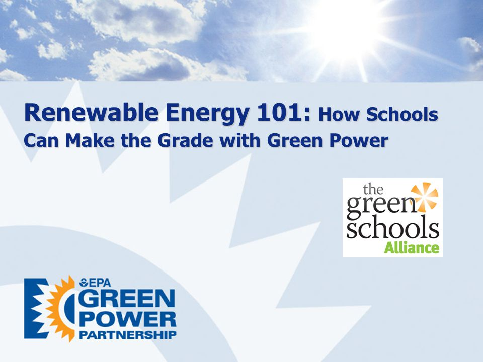 Renewable Energy 101: How Schools Can Make the Grade with Green Power
