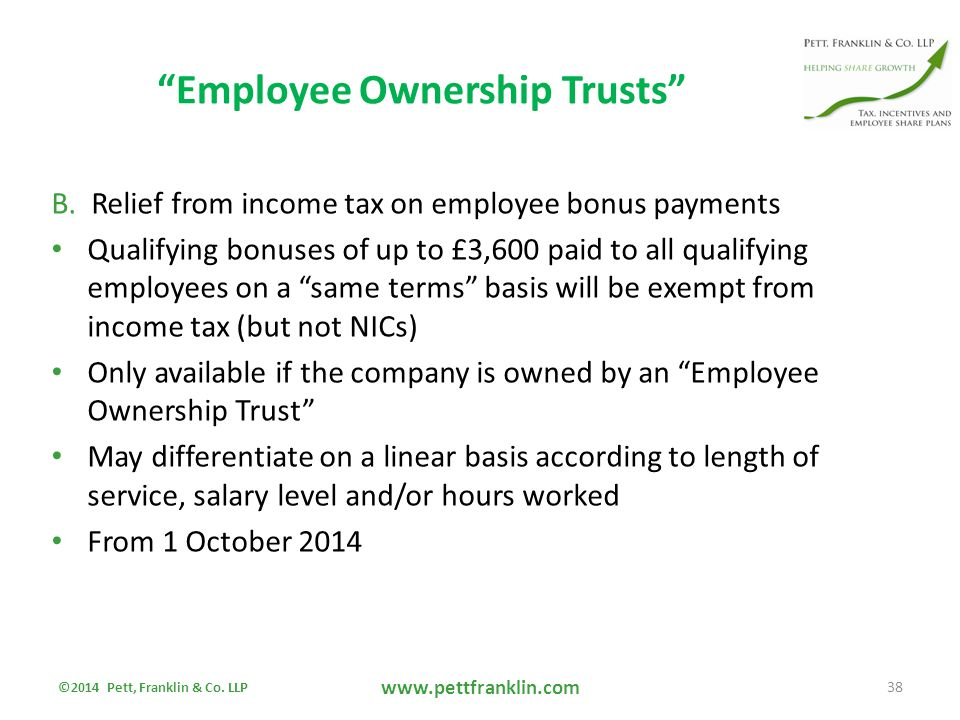 Employee Ownership Trusts B.