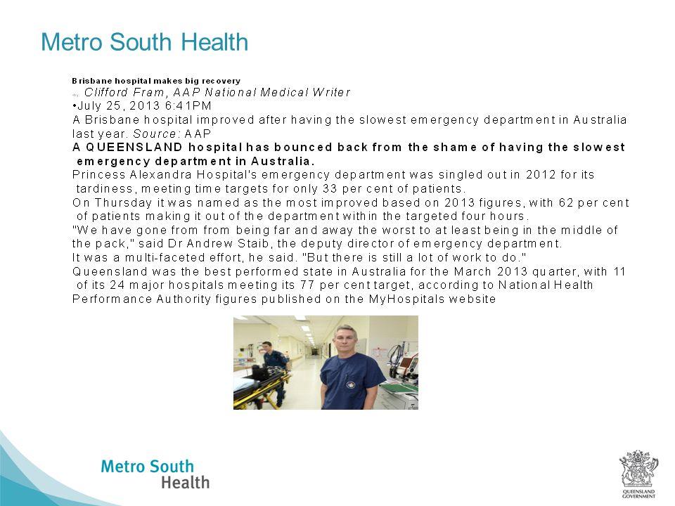 Metro South Health