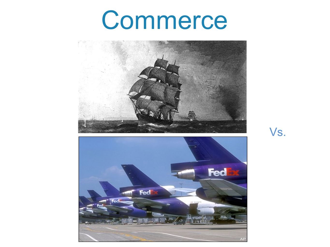 Commerce Vs.