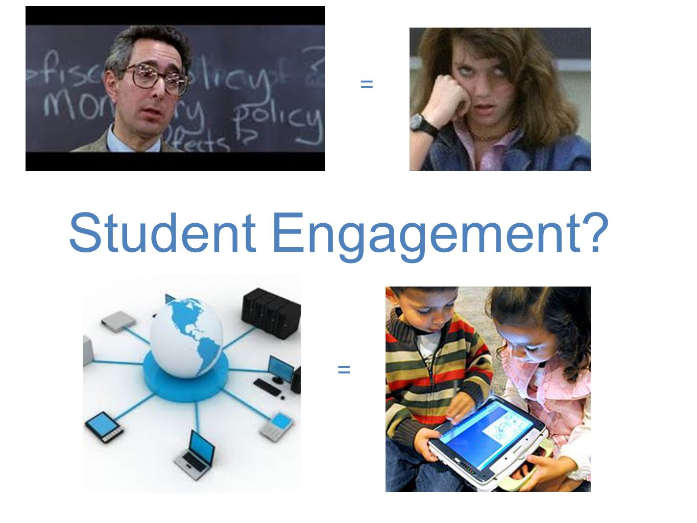 Student Engagement = =