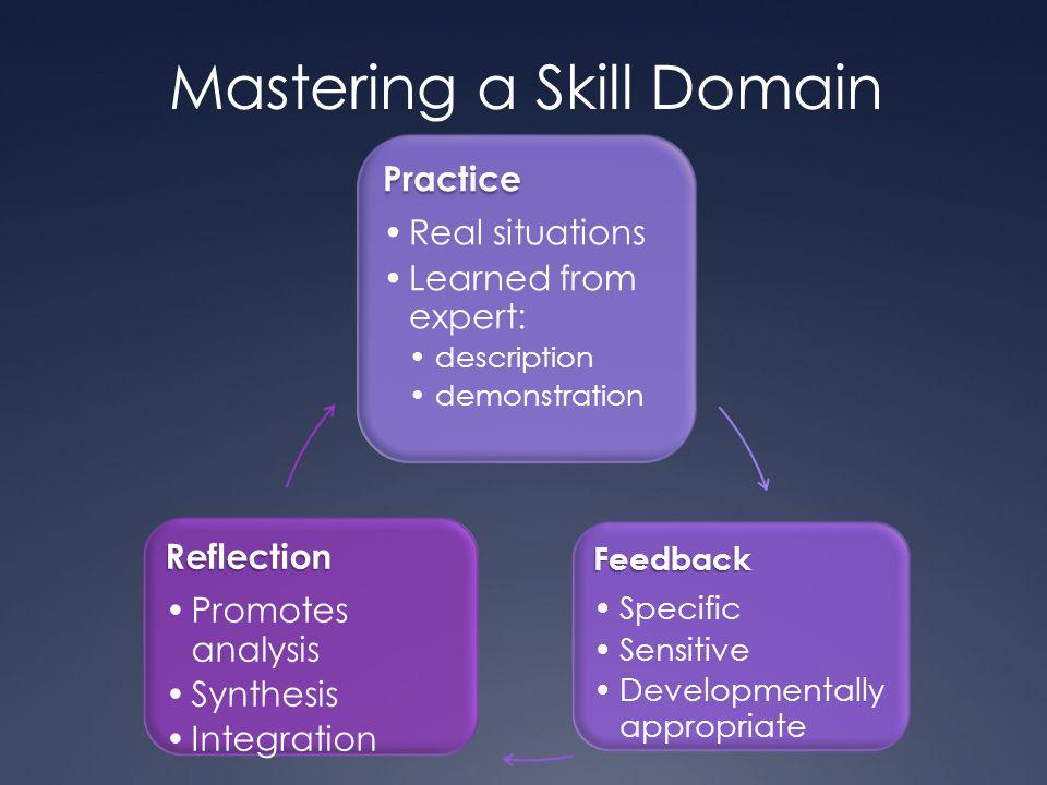 Mastering a Skill Domain