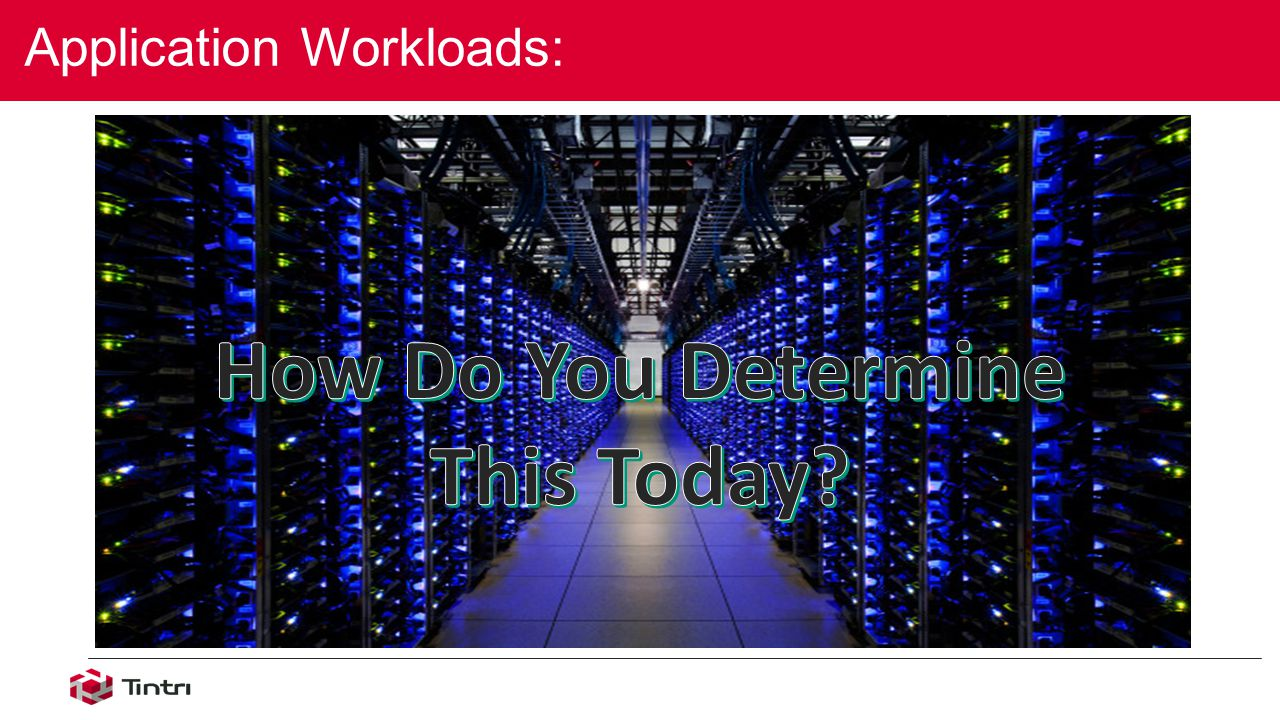 Application Workloads: