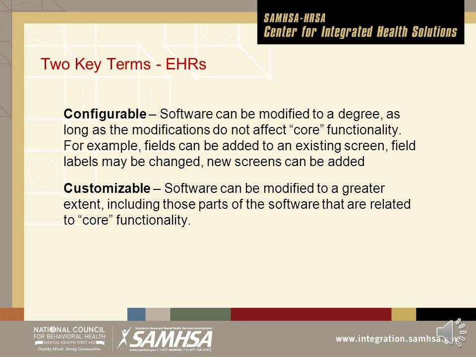 Introduction Using an Electronic Health Record requires an electronic network Will determine the bulk of start-up costs and long-term costs Electronic
