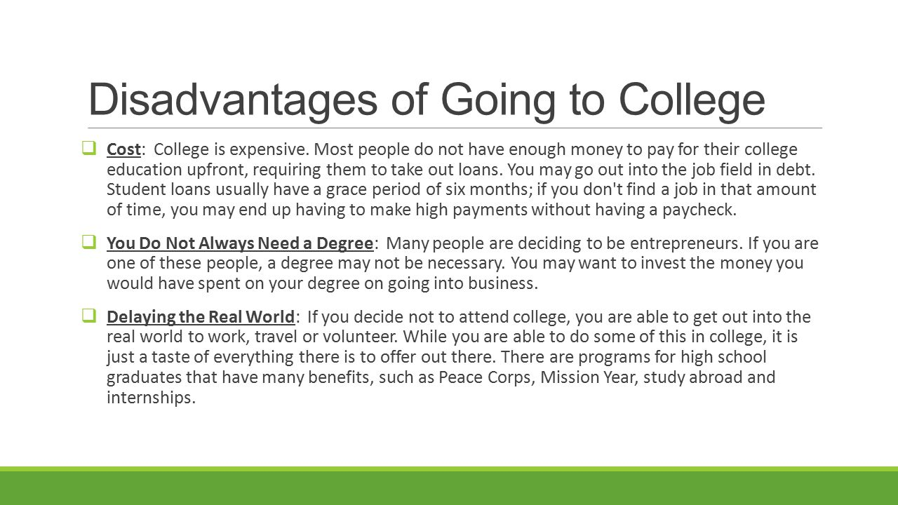 References  How Important is a College Education.