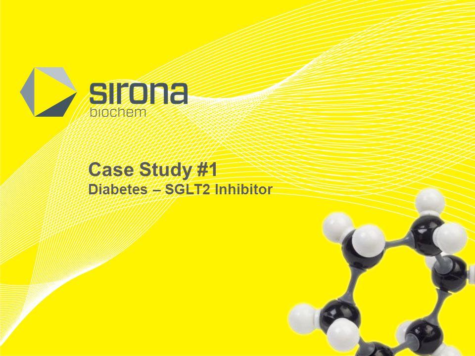 TSX-V: SBM OTCQX: SRBCF Case Study #1 Diabetes – SGLT2 Inhibitor