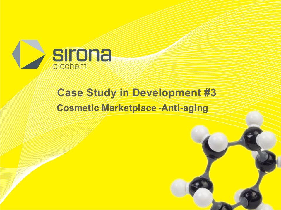 TSX-V: SBM OTCQX: SRBCF Case Study in Development #3 Cosmetic Marketplace -Anti-aging