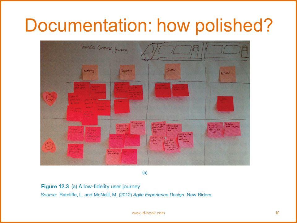 Documentation: how polished www.id-book.com10