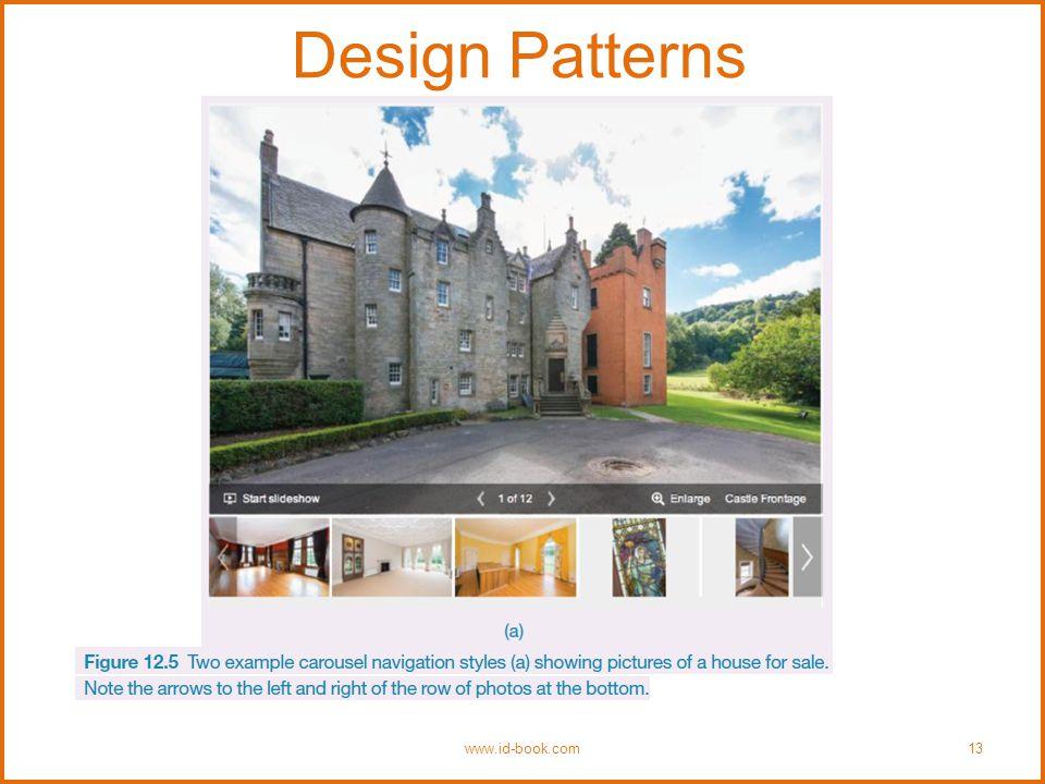 Design Patterns www.id-book.com13 Insert Figure 12.5 (a)