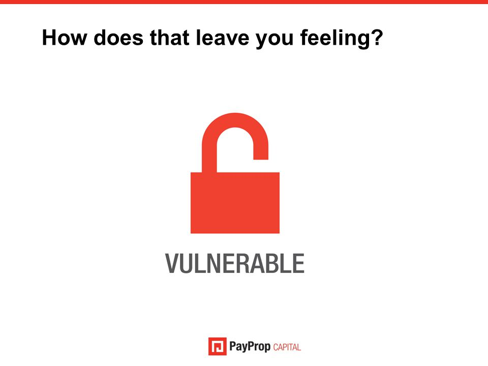 How does that leave you feeling?