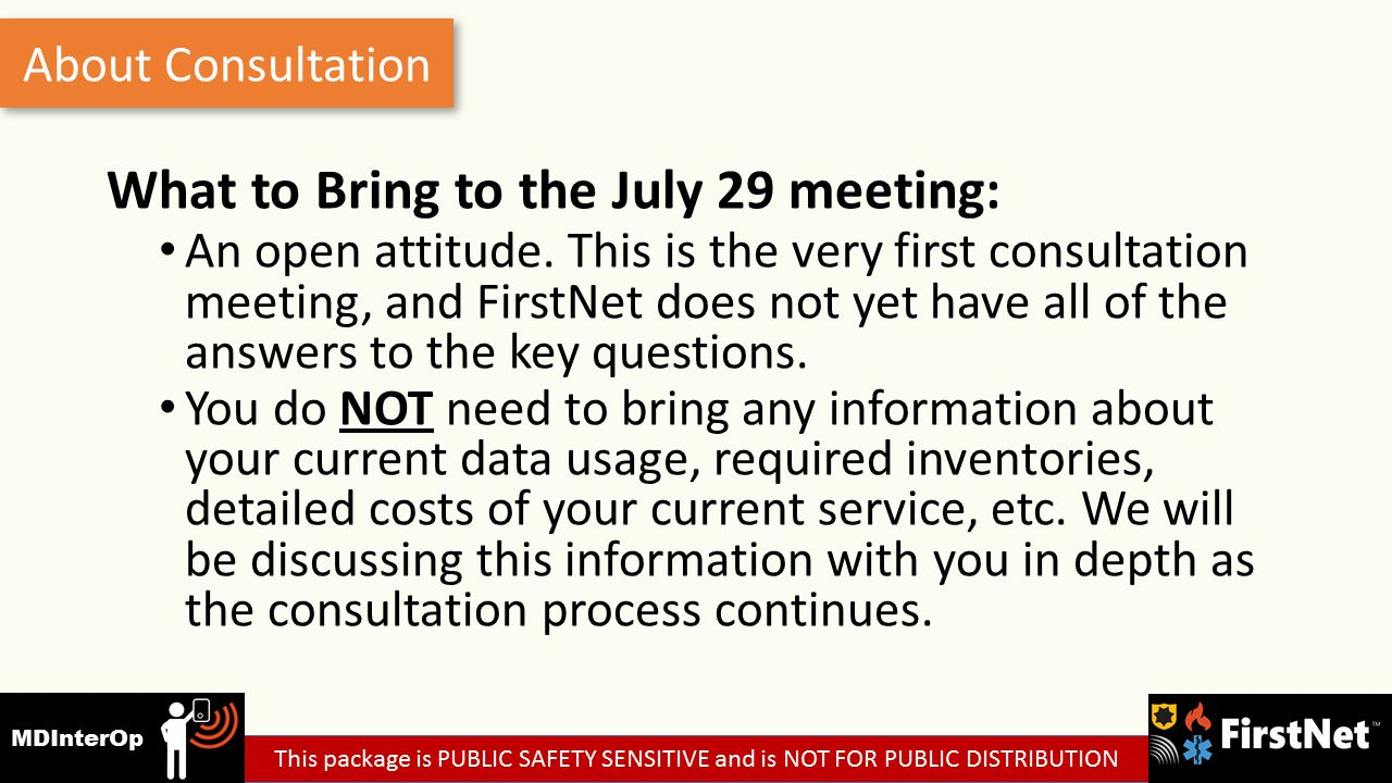 What to Bring to the July 29 meeting: An open attitude.