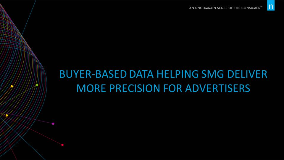 BUYER-BASED DATA HELPING SMG DELIVER MORE PRECISION FOR ADVERTISERS