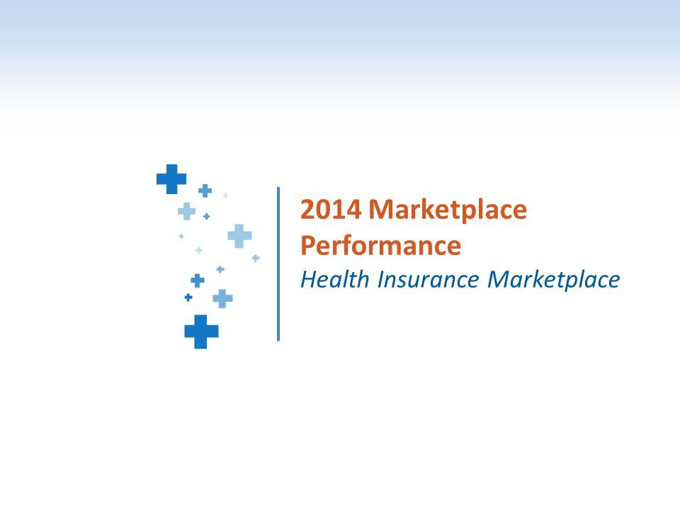 1 2014 Marketplace Performance Health Insurance Marketplace