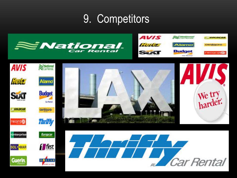 9. Competitors