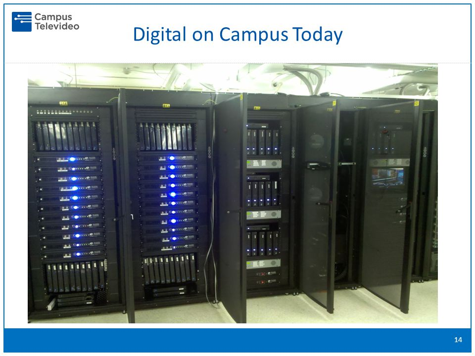 14 Digital on Campus Today