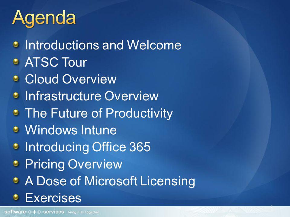 Office 2010 Pro (45 copies) Year 1Year 2Year 3Year 4Year 5Year 66 Year Total Open L $30,555--- - $ 61,110 Open L&SA $48,285- $17,730- - $83,745 Open Value $17,235 $8,460 $77,085 OVS without discount $10,350 $62,100 OVS with UTD discount $5,175$10,350 $56,925 UTD Discount applied (50%) -$2,000 (Cust Apprec.