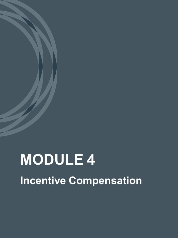 Partner Compensation 9 We will not be offering the 50% upfront bonus for internal advisors for referrals to the Investment Management side of the business as it creates a dramatic conflict if interest.