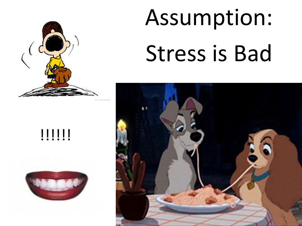 Assumption: Stress is Bad !!!!!!