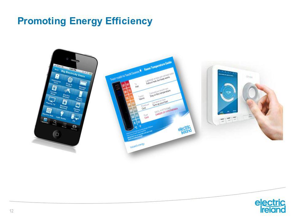 Promoting Energy Efficiency 12 €15k /r