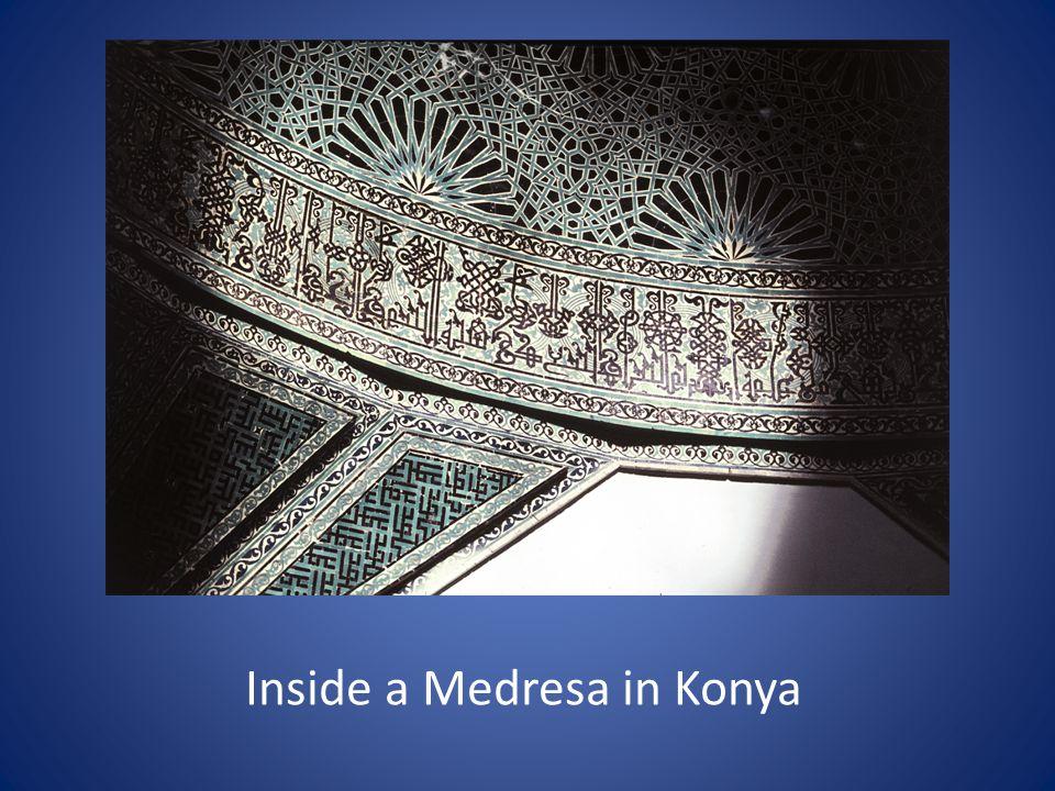 Inside a Medresa in Konya