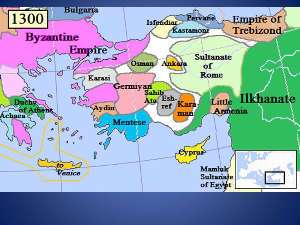 Osman Gazi or Osman Beg 1281- 1326