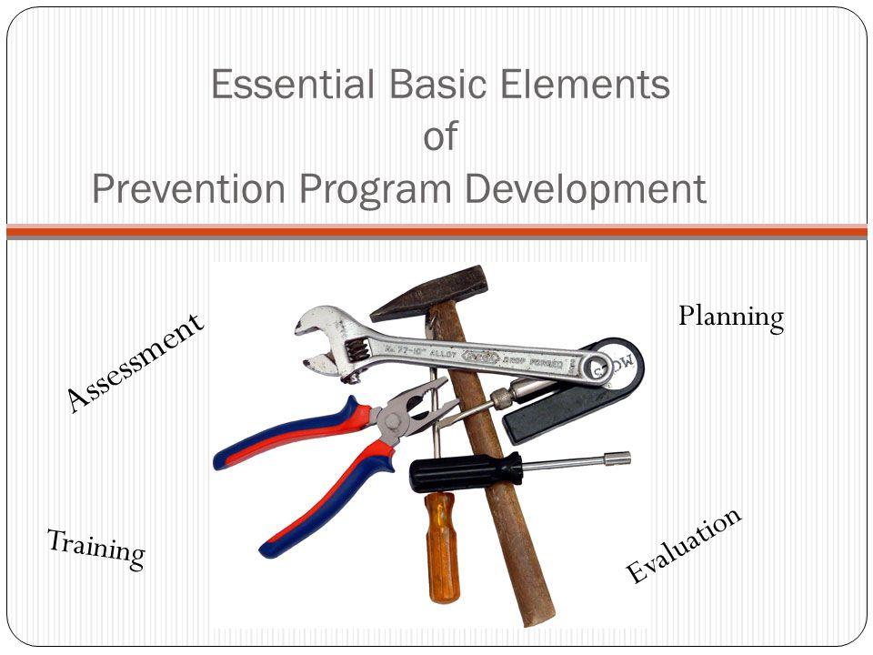 - Community Strengths/Needs Assessment