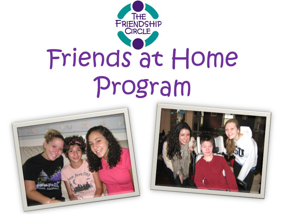 Friends at Home Program