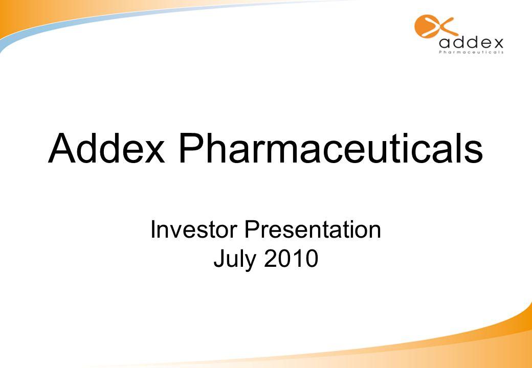 Addex Pharmaceuticals Investor Presentation July 2010