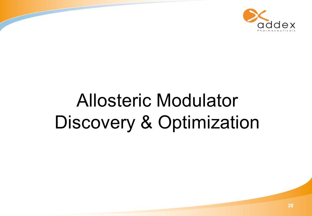 28 Allosteric Modulator Discovery & Optimization