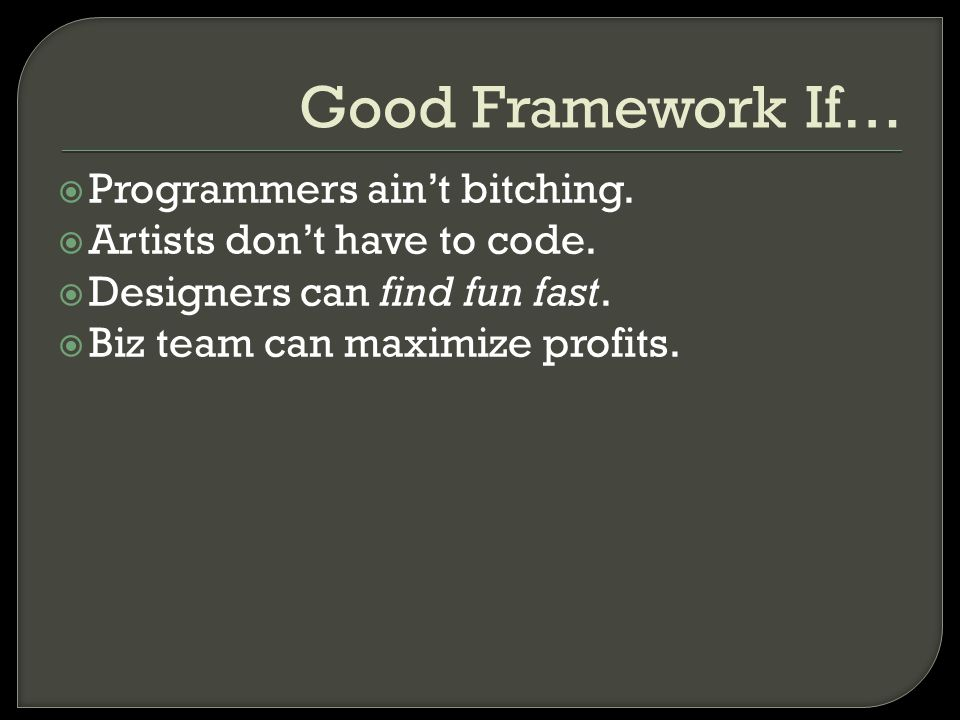  Programmers ain't bitching.  Artists don't have to code.