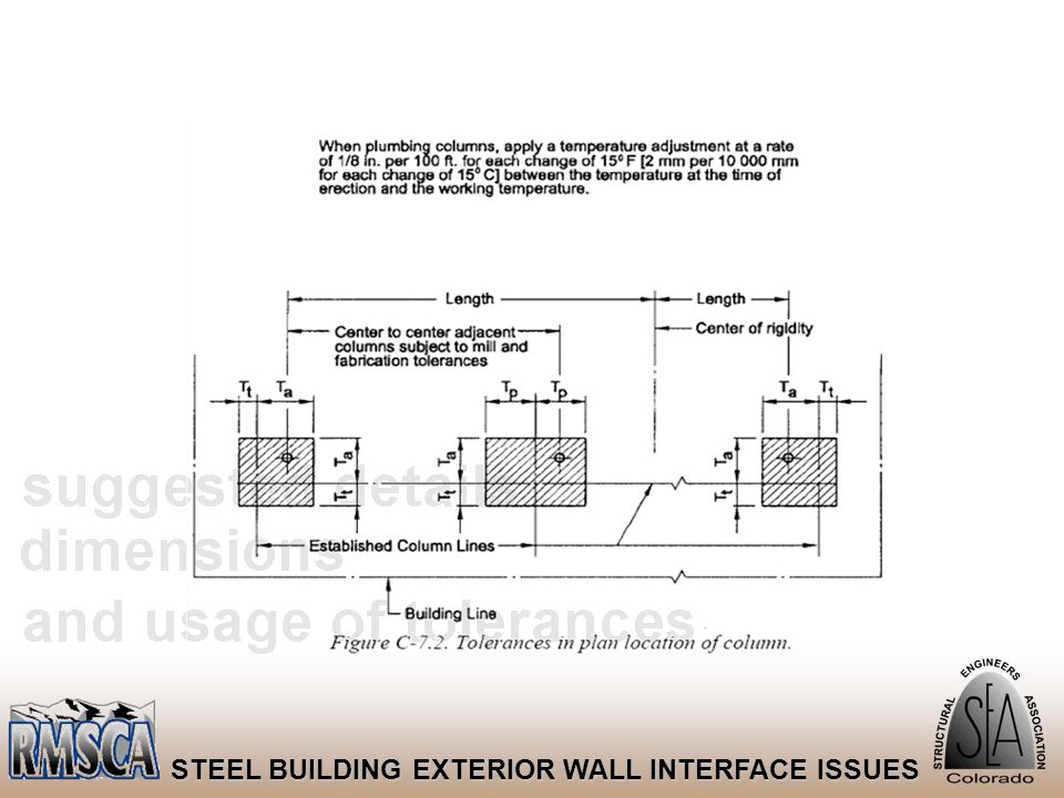 43 STEEL BUILDING EXTERIOR WALL INTERFACE ISSUES