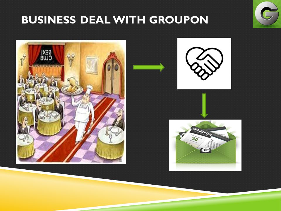 BUSINESS DEAL WITH GROUPON